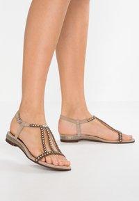 Lazamani - Sandals - biscuit - 0