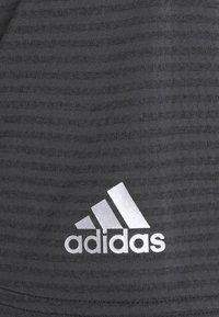 adidas Golf - HEAT.RDY MICROSTRIPE - Funkční triko - carbon/black - 2