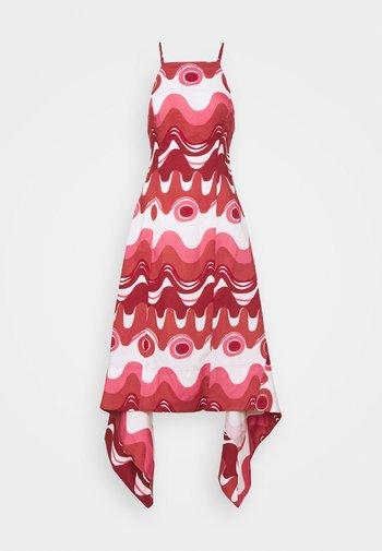 TAMEKA DRESS - Maxi-jurk - dark red