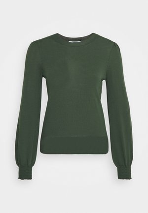 PUFF SLEEVE JUMPER - Trui - forest