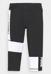 Puma - RUNTRAIN - Leggings - black/white - 1