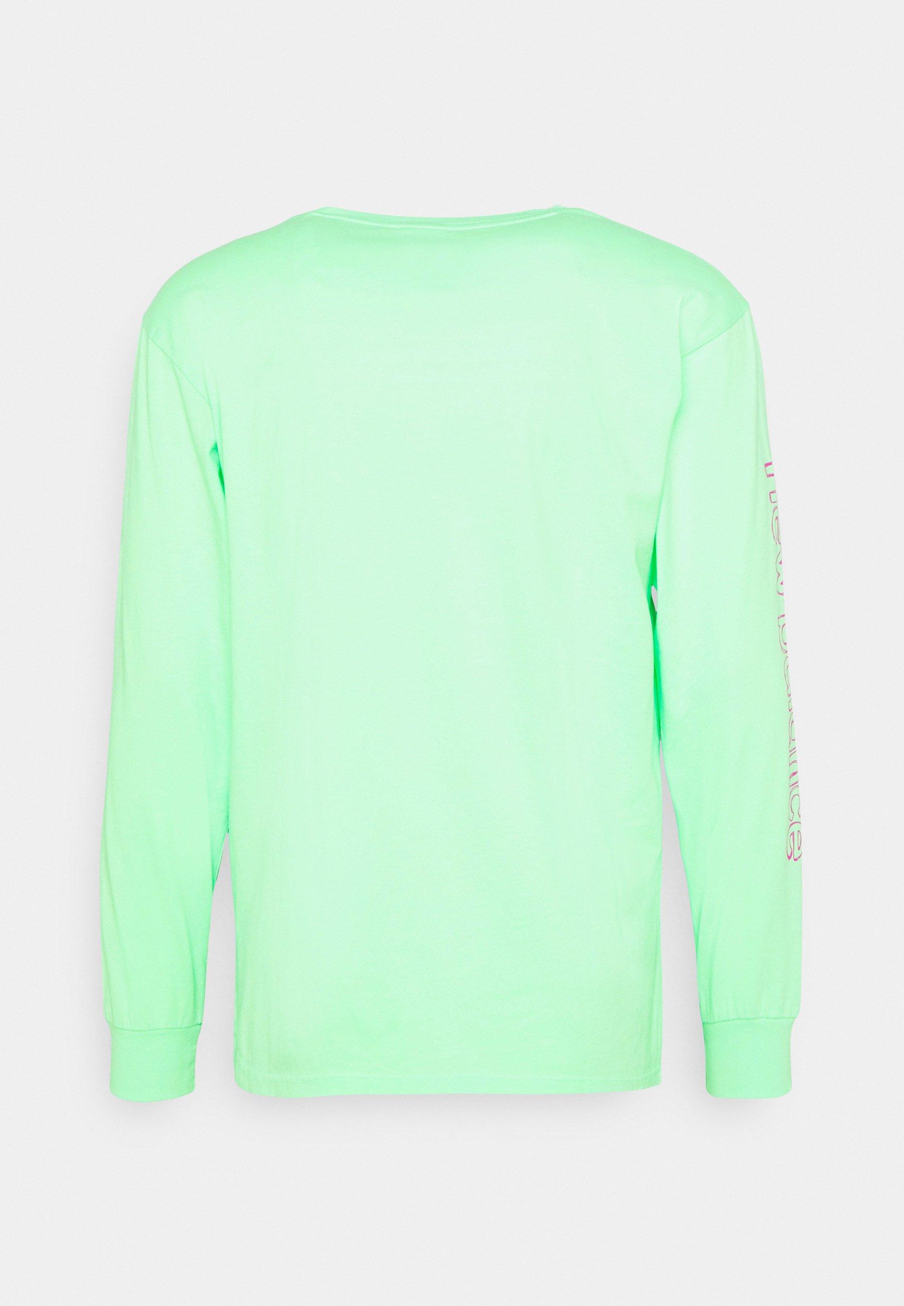 Homme ATHLETICS CLASH LONG SLEEVE TEE - T-shirt imprimé