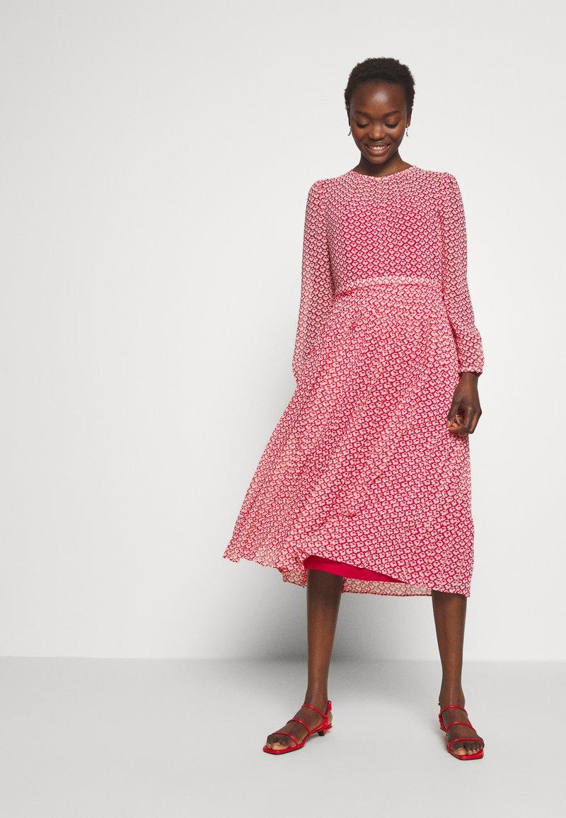 LK Bennett - AVERY - Day dress - red