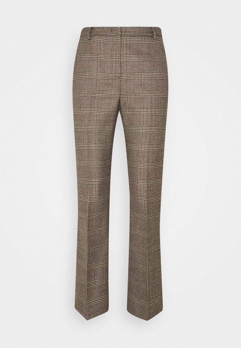 WEEKEND MaxMara - AGGETTO - Spodnie materiałowe - karamell