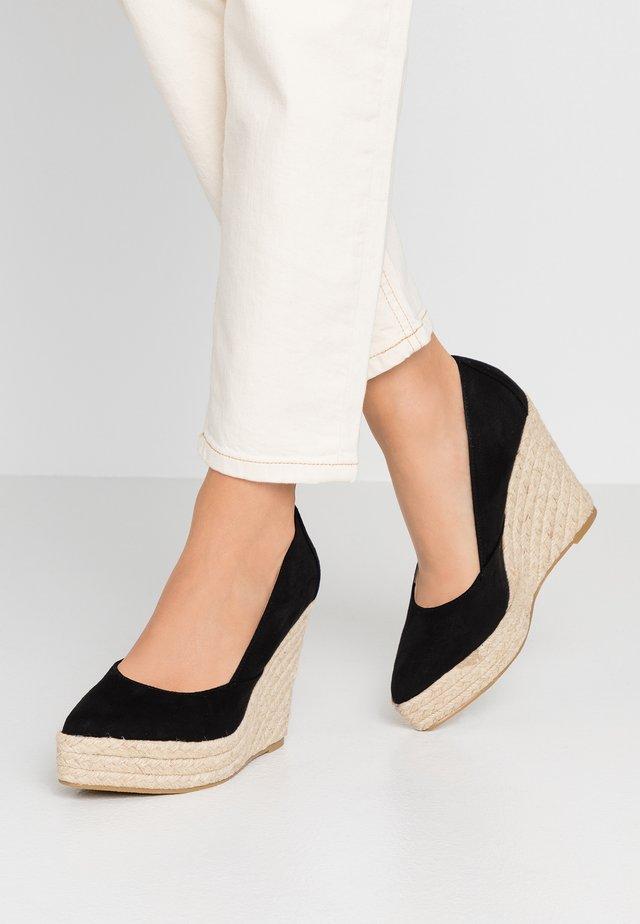 TANIKA - Zapatos altos - black