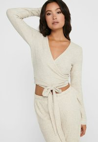 ONLY - Long sleeved top - oatmeal - 3