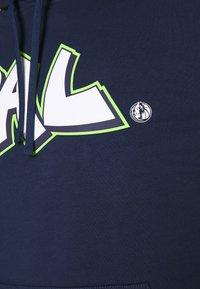 Nike Performance - NBA DALLAS MAVERICKS CITY EDITION LOGO HOODIE - Club wear - college navy - 5