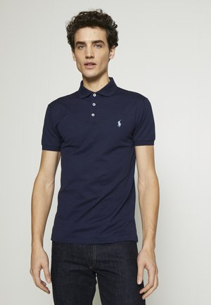 SLIM FIT MODEL - Polo - spring navy