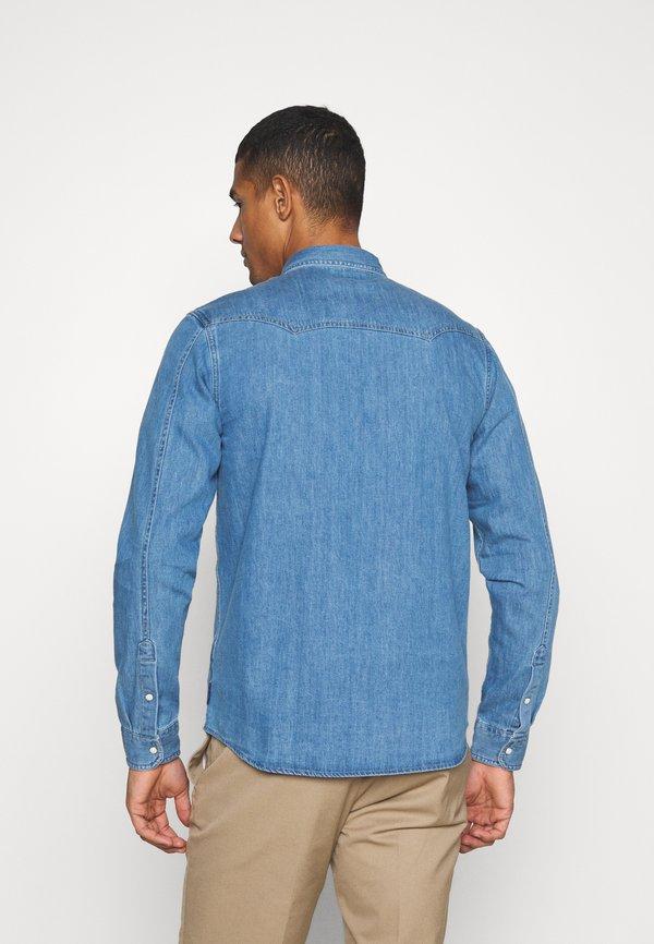 Scotch & Soda CLASSIC WESTERN IN SEASONAL WASHES - Koszula - light-blue denim/jasnoniebieski Odzież Męska IWQP