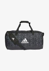 adidas Performance - PRIMEGREEN GRAPHIC DUFFELBAG - Torba sportowa - black - 0