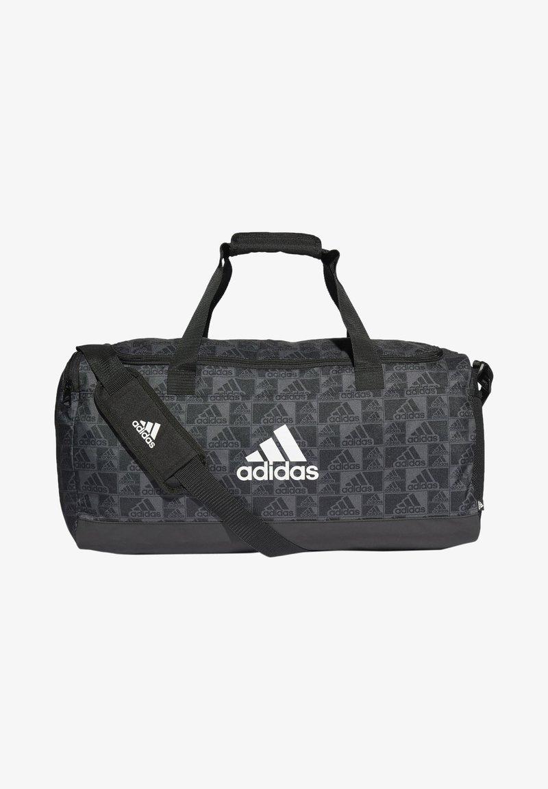 adidas Performance - PRIMEGREEN GRAPHIC DUFFELBAG - Torba sportowa - black