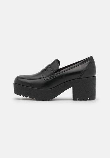 KOY - Escarpins à plateforme - black