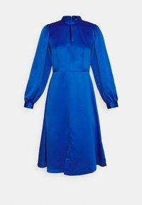 Closet - HIGH COLLAR A-LINE DRESS - Cocktail dress / Party dress - cobalt - 5