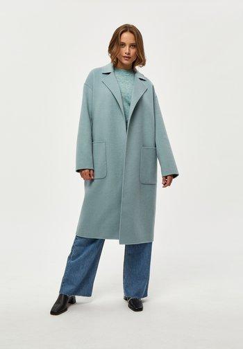 Cappotto classico - misty blue