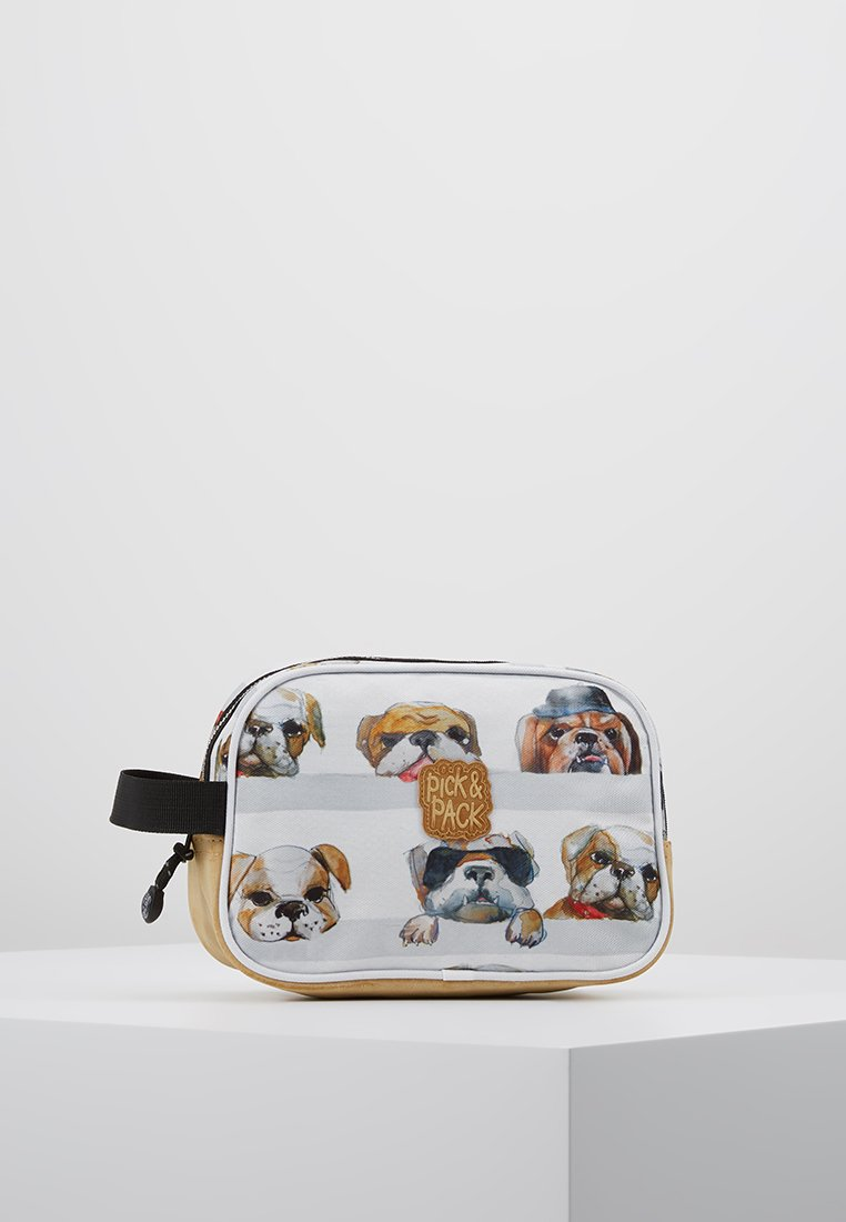 pick & PACK - DOGS - Handbag - white
