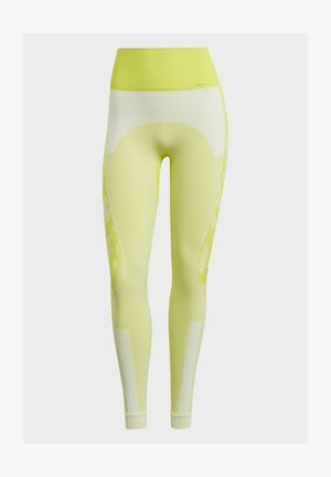 ADIDAS BY STELLA MCCARTNEY TRUEPURPOSE SEAMLESS LEGGI - Medias - yellow