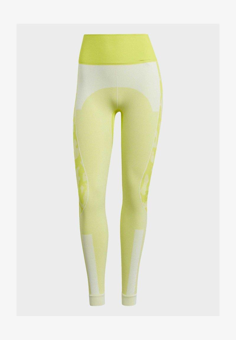 adidas by Stella McCartney - ADIDAS BY STELLA MCCARTNEY TRUEPURPOSE SEAMLESS LEGGI - Medias - yellow