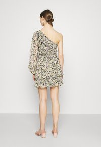 Gina Tricot - EXCLUSIVE MERIDIANDRESS - Cocktail dress / Party dress - black/multi-coloured - 2