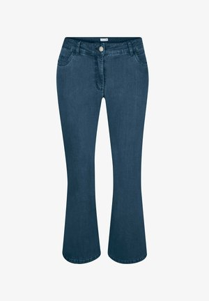 Bootcut jeans - blue bleached