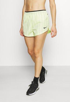 TEMPO SHORT - Sports shorts - lime ice/black