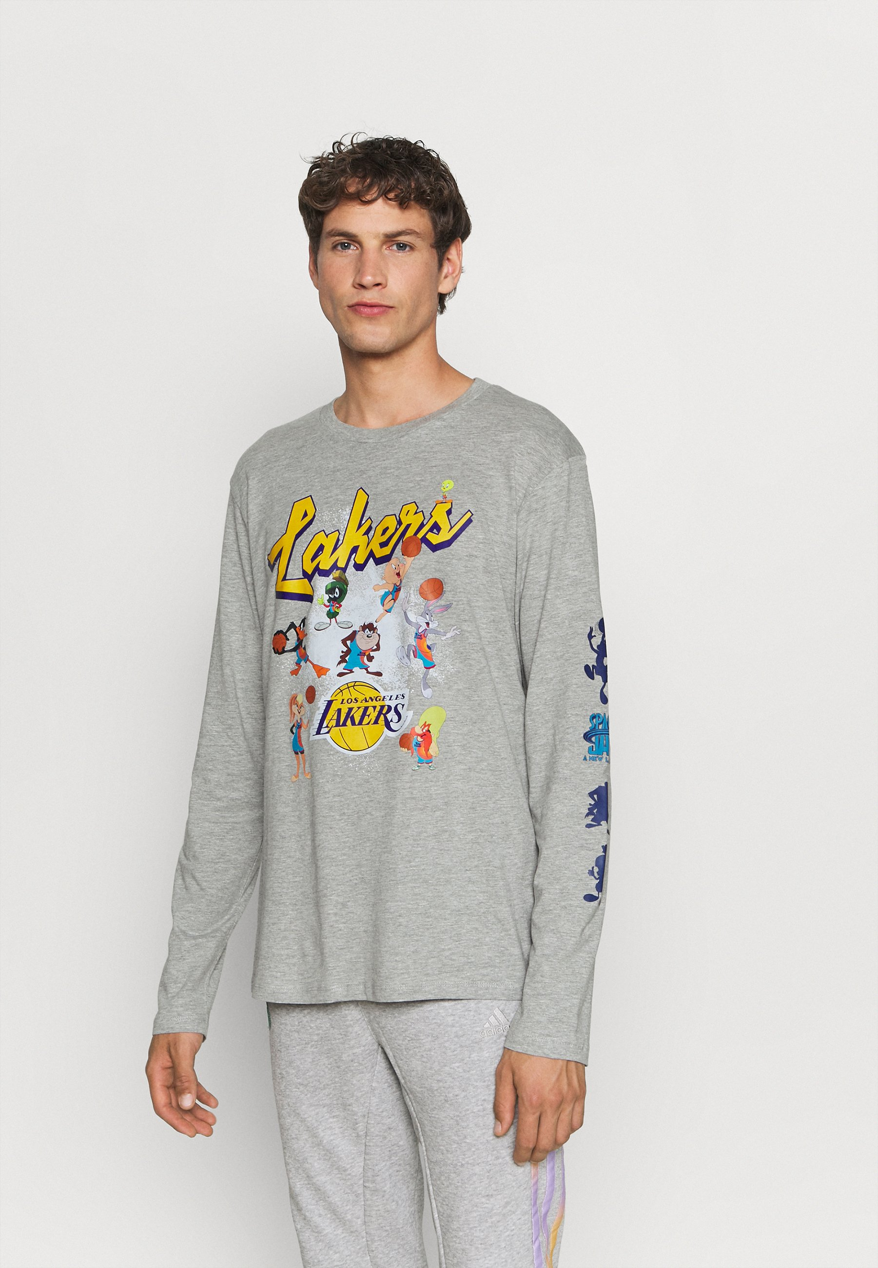 Uomo NBA LOS ANGELES LAKERS SPACE JAM 2 ALL IN TEE - Maglietta a manica lunga