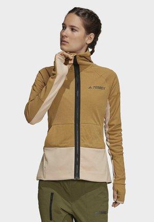 TERREX ZUPAHIKE - Zip-up sweatshirt - brown