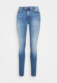 SYLVIA SUPER SKINNY - Skinny džíny - denim blue