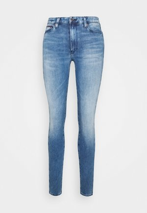 SYLVIA SUPER SKINNY - Jeans Skinny Fit - denim blue