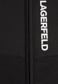 KARL LAGERFELD - ZIP JACKET - Mikina na zip - black - 5