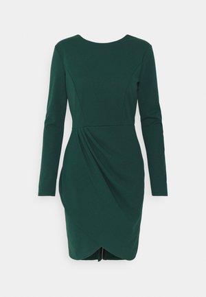 BELIA FULL ZIP DRESS - Kotelomekko - forest green