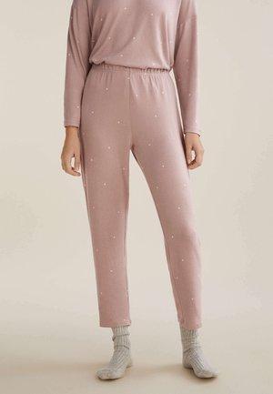 Pyjama bottoms - mauve