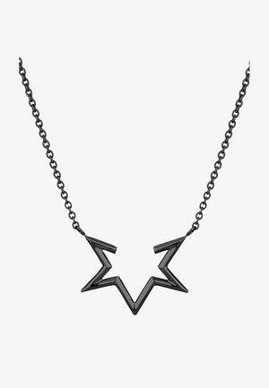 HALF-STAR  - Necklace - black