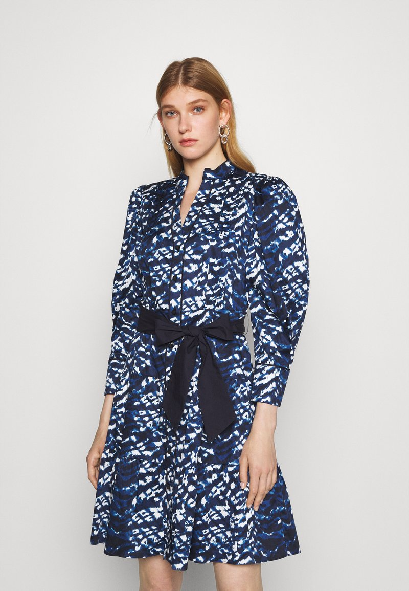 Diane von Furstenberg - DIANA DRESS - Shirt dress - blue