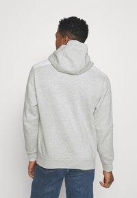 Nike Sportswear - AIR HOODIE - Hoodie - grey heather/summit white/infrared 23 - 2