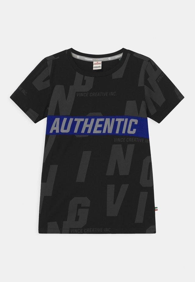 HECELLO - T-shirts print - deep black