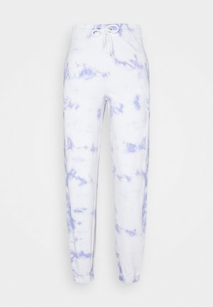 TIE DYE  - Pantalones deportivos - light blue