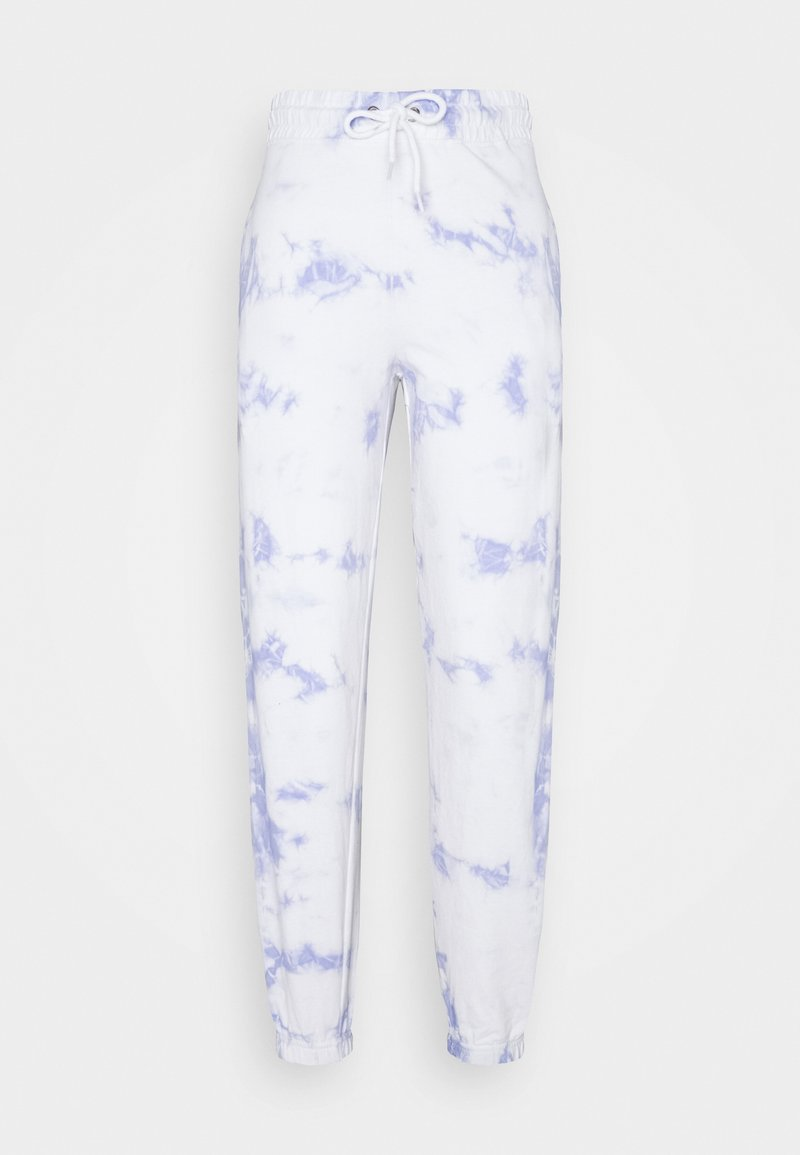 New Look - TIE DYE  - Pantalones deportivos - light blue