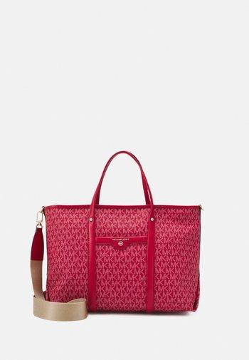 BECK TOTE - Handtas - bright red