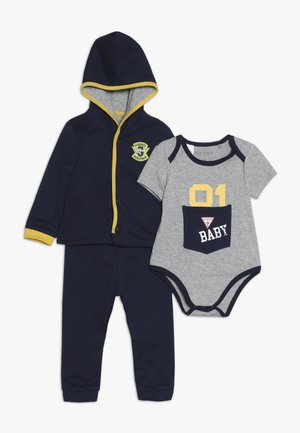TAKE ME HOME BABY SET - Sudadera con cremallera - deck blue