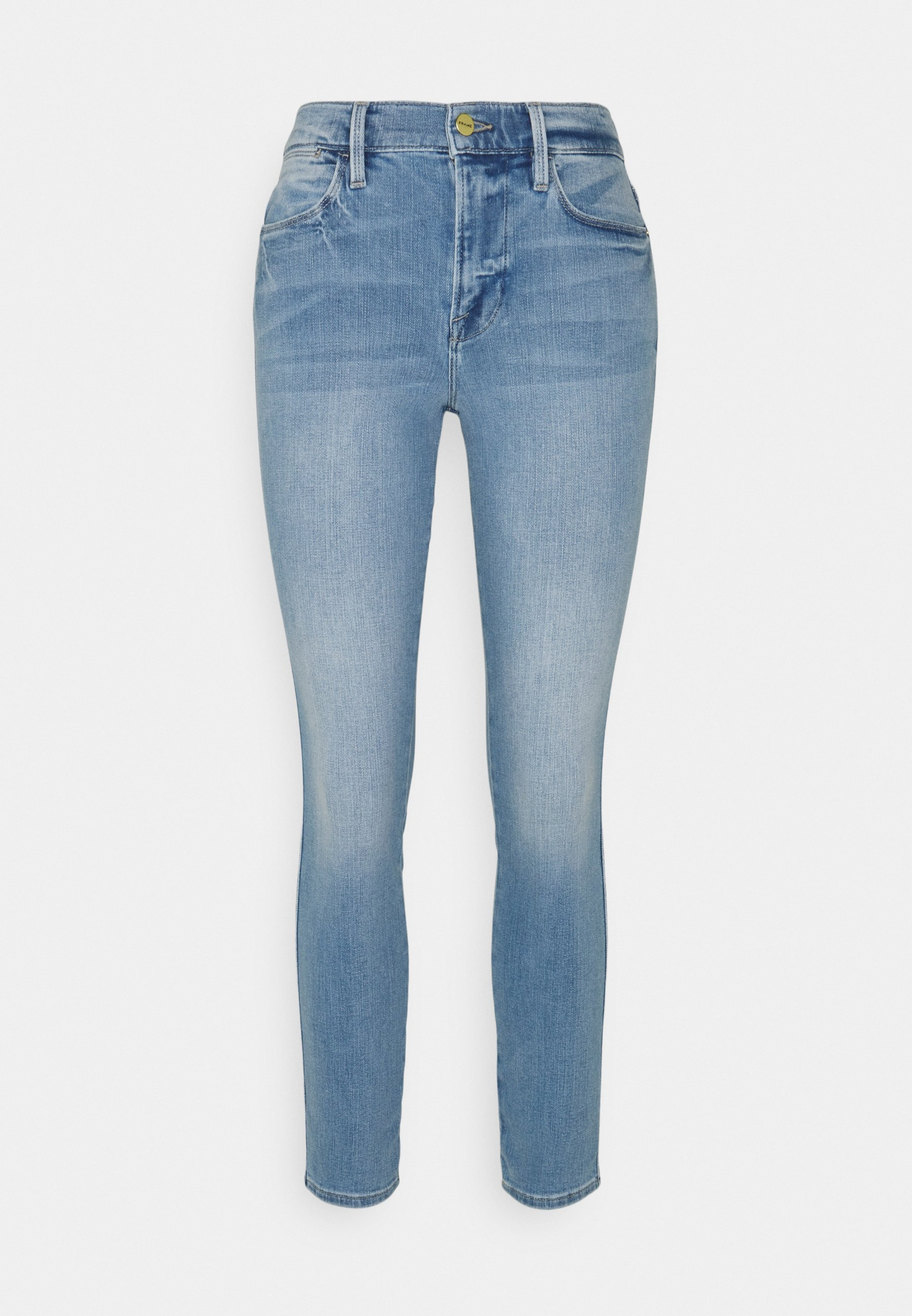 Women HIGH DOUBLE NEEDLE - Jeans Skinny Fit