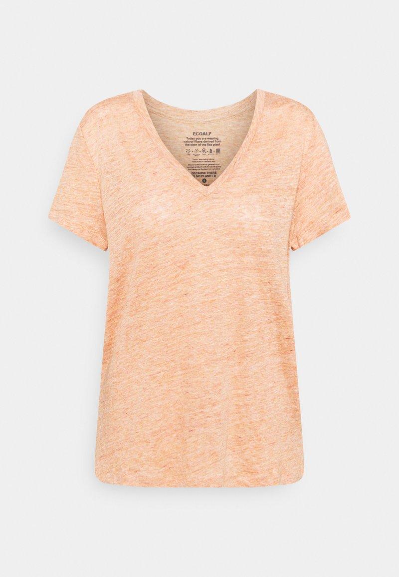 Ecoalf - CEYLAN WOMAN - Print T-shirt - light terracota