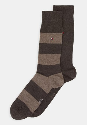 2 PACK - Socks - brown