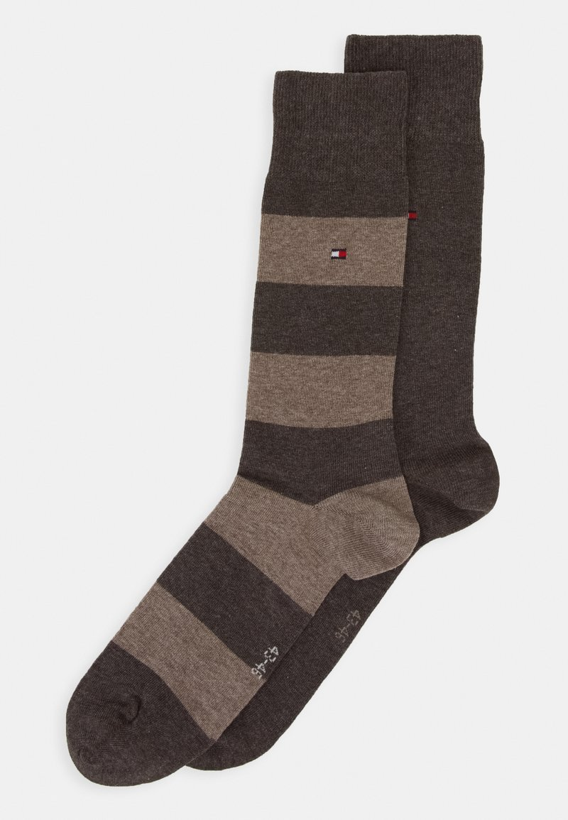 Tommy Hilfiger - 2 PACK - Chaussettes - brown