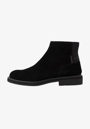 GARBER ZIP BOOT - Classic ankle boots - black