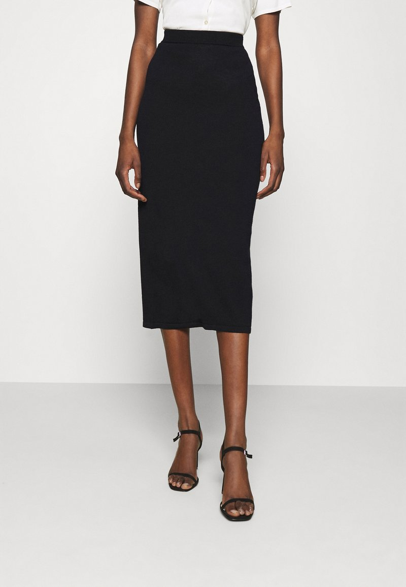 Stylein - RENE - Pouzdrová sukně - navy