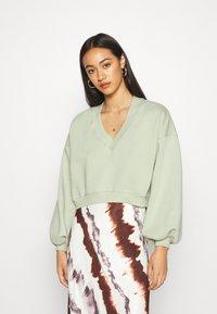 Monki - STELLA - Sweatshirt - green light - 0