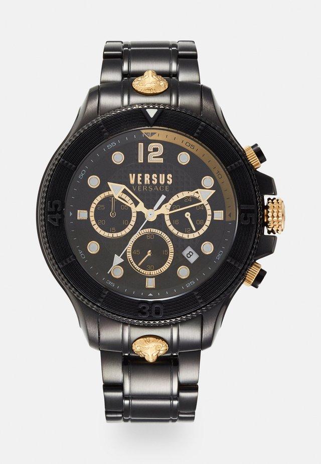VOLTA - Chronograph - black/gold-coloured