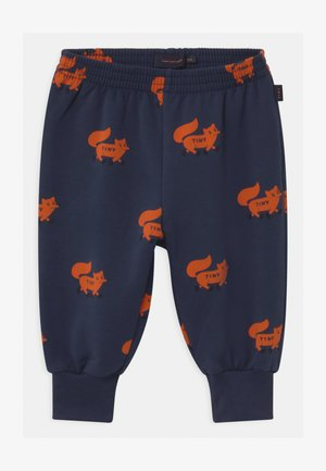 FOXES  - Trousers - light navy/sienna