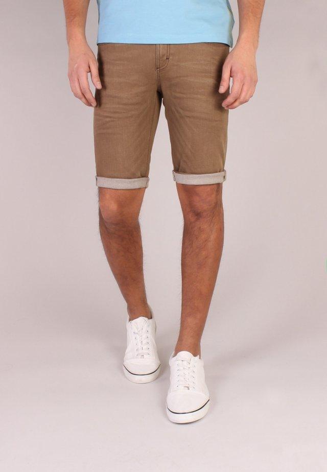 Shorts di jeans - camel denim