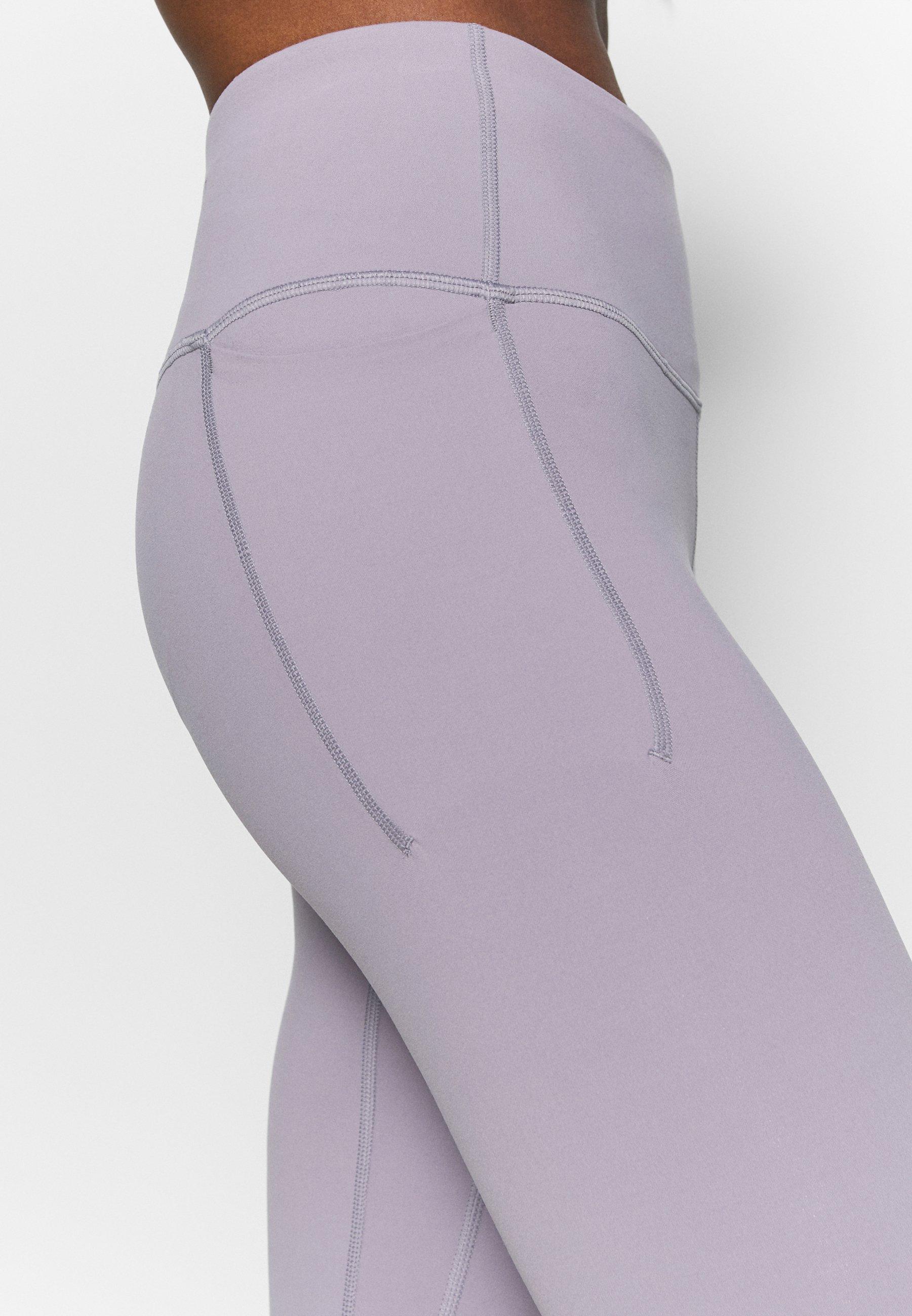 Under Armour MERIDIAN CROP - Leggings - slate purple WMfZZ